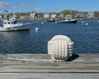 10 Nautical Wedding Centerpiece (Table Number Knots)