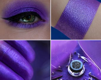 Eyeshadow: Jealous - Fairy. Juicy purple satin eyeshadow by SIGIL inspired.