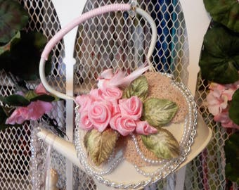Beads and Blooms Teakettle