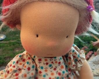 Zizi, 16 inch waldorf inspired doll