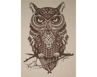 Celtic Owl Crew T-Shirt BR