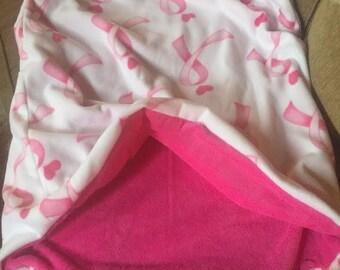 Pink Ribbon SnuggleSak Sleeping Bag for your small burrowing dog or cat
