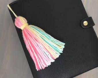 Fruit Punch Soft Yarn Tassel/Planner Tassel / Planner Accessory/ Handbag Accessory