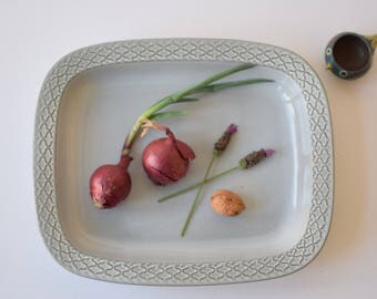 ON HOLD! Quistgaard - CORDIAL - Big deep serving platter / tray - Bing & Grøndahl - 1970s - Danish mid century tableware