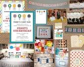 CANDY BAR + SWEET Shop Birthday + Adult + Baby + Bridal Shower + Graduation Invitation - Full Service Printing Coordinating Items