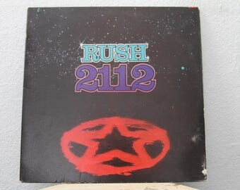 "Rush - ""2112"" vinyl record"