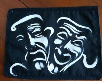 Drama Masks Patch