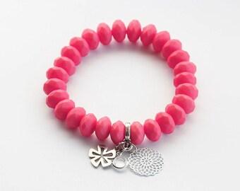 Salmon bracelet