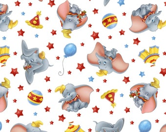 Disney Dumbo Circus Fabric