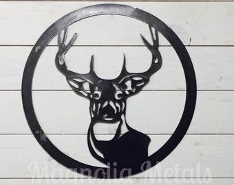 Deer Head - Metal Wall Decor