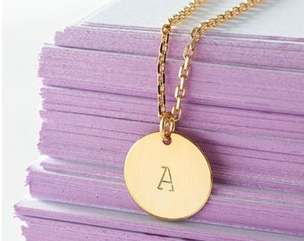 Personalized Necklace, costom.made, gold-filled