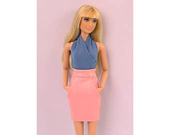Blue body for Barbie and Poppy Parker