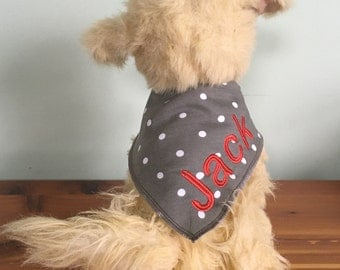 Dog Bandana, Personalized Bandana, Personalized Dog Bandana, Pet Bandana, Custom Dog Bandana, Dog Gift, Pet Gift, Dog Accessories, Dog, Pet