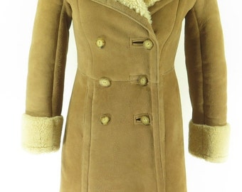 Shearling coat | Etsy