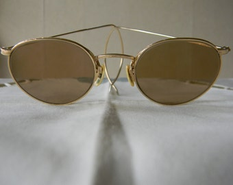 True Vintage rare A O Ful Vue 1/10-12 K GF Artcraft 45 mm.Sunglasses.Made in the USA.30's