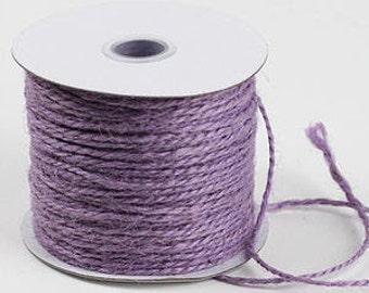 Jute Twine - Lavender