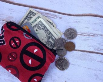 Deadpool Coin Purse - Ready to Ship