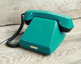 Vintage Soviet  rotary telephone / TA-68 /  Interior Design Made in USSR Vintage Factory Intercom / vintage phone / Old Dial Desk Phone