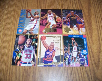 6 Grant Hill (Detroit Pistons) Rookie Cards