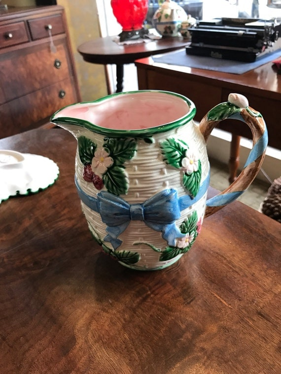 Floral pitcher the Haldon Group