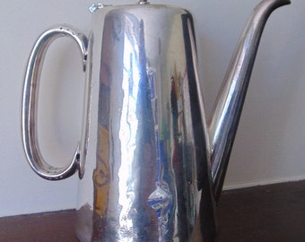Silver Plate Coffee Pot by William Hutton & Sons