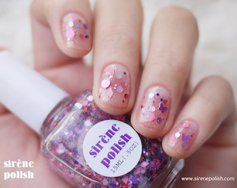witchcraft - Glitter Polish -  Nail Lacquer