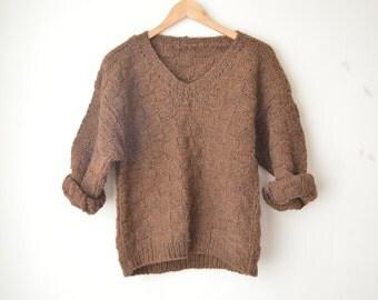 70s v neck sweater | Etsy