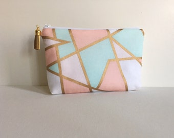 Essential Oil Bag- Pastel Colorblock