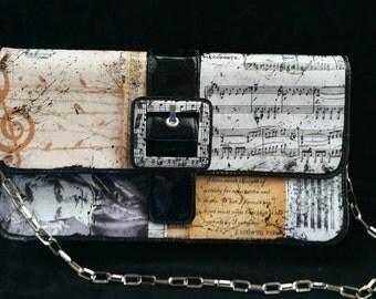 Ludwig Van Beethoven Purse Classical Music Purse Fur Elise Musician Purse Musician Gift Music Teacher Purse