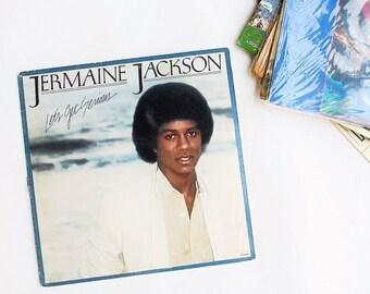 Vintage LP Jermaine Jackson: Let's Get Serious Vinyl Record Album (1980, Motown Records)