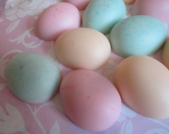 Scented Wax Melts - Easter Eggs Candle- Shape Candle Melts Set -2oz