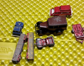 Vintage Tootsie Toy cars, Tootsietoy Train