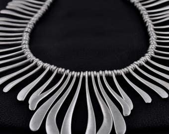 Bohemian Bronze Brass  Necklace