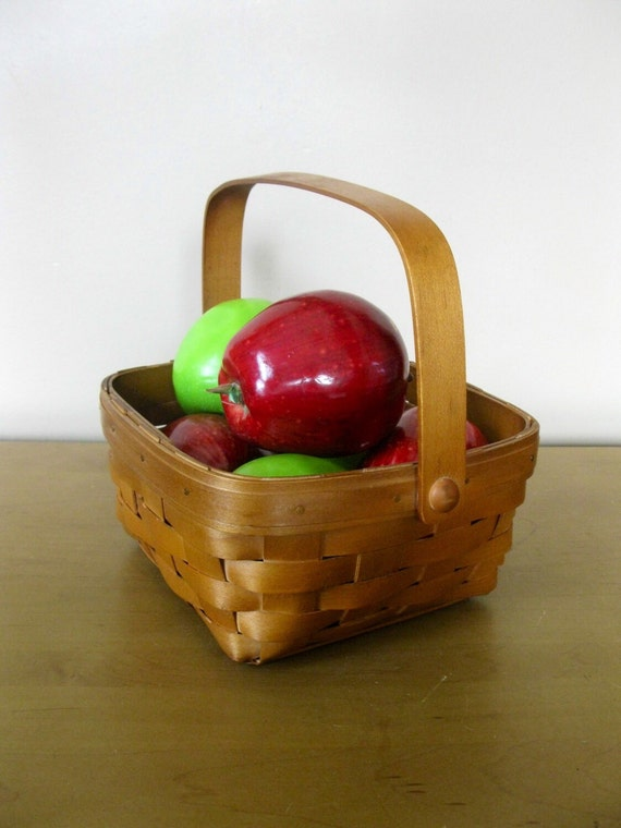 Flower Girl Baskets Canada : Canadian maple basket heritage mint ltd stained medium