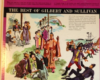 A Musical Heritage For Young America Album 9 The Best Of Gilbert And Sullivan - Golden Record Library 9908 by Golden Record Library