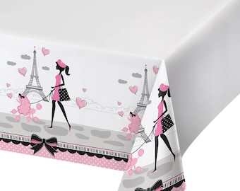 Party in Paris Tablecloth