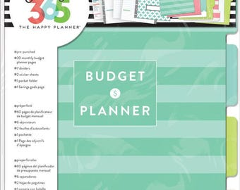 The Happy Planner - Create 365 - Me and My Big Ideas - Budget Extension Pack - Classic Happy Planner