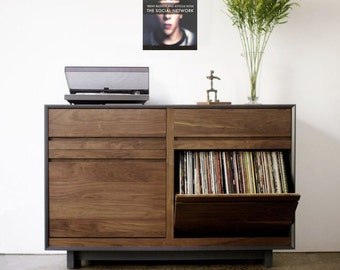 Vinyl Display Shelf