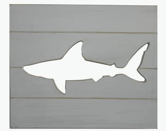 Shark Wall Art shark wall art | etsy