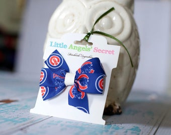 Baseball Hair Clip (Alligator)