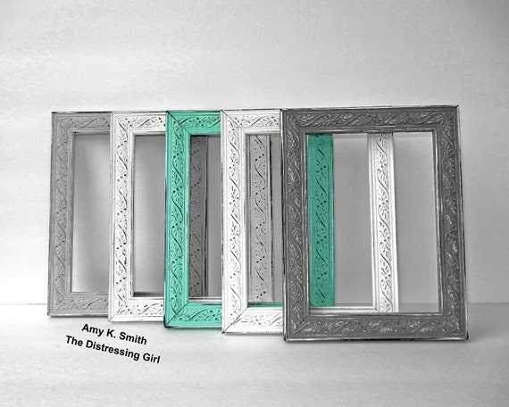 One Colorful 5x7 Picture Frame Sweet Thin Scroll Frame