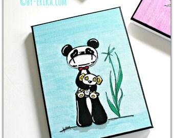Panda Smorglub, custom table