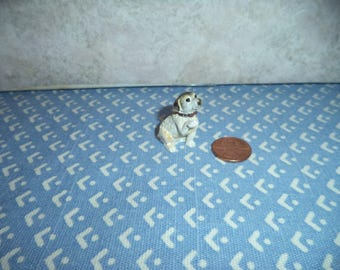 1:12 scale Dollhouse Miniature Jack Russell Terrier Dog