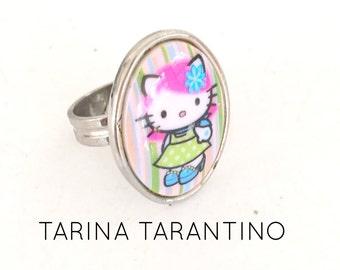 Hello Kitty Ring Vintage Tarina Tarantino