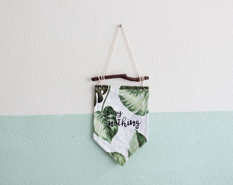 Wall banner - Busy doing nothing