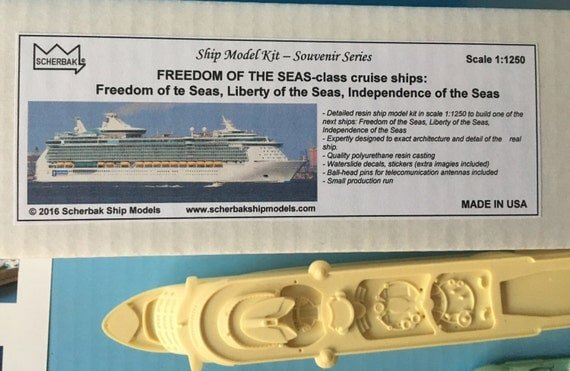 MODEL KIT Cruise Ship Freedom Of The Seas Class Liner - Cruise ship model kits