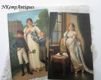Antique postcard x 2