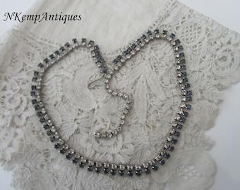 1950's diamante necklace
