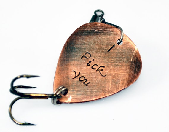 I pick you custom engraved fishing lure antiqued by duostef for Engraved fishing lures