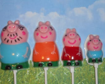 8 Pc. Peppy Pig Family